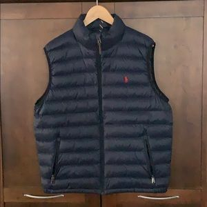 Ralph Lauren Polo men's duck feather vest